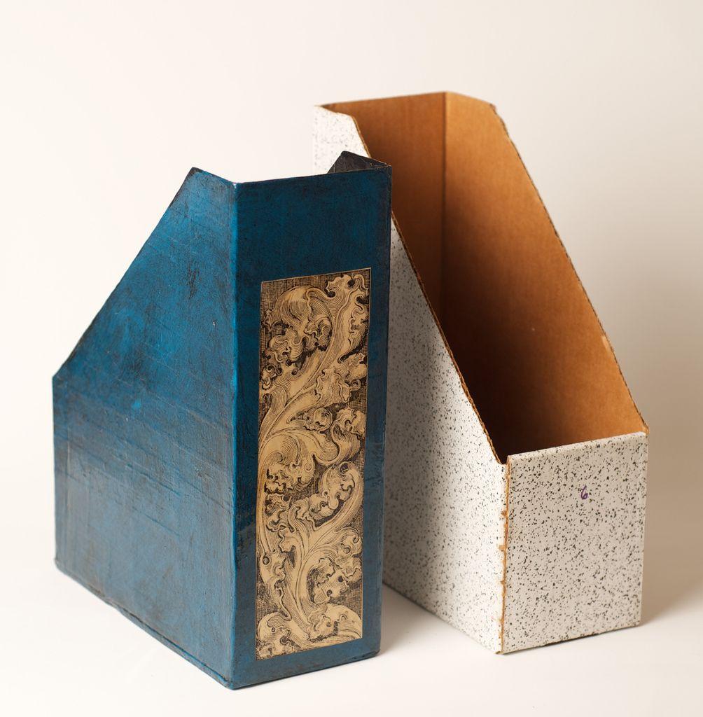 Cardboard Magazine Holders Paper Mache Magazine Holder  Magazine Holders Paper Mache And
