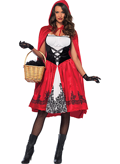 Party City- Adult Red Riding Hood.