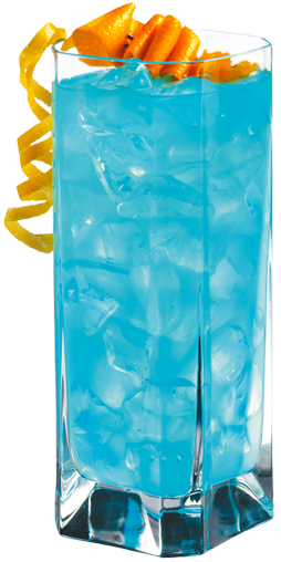 blue breeze (hpnotiq, coconut rum and pineapple juice).... have I pinned this before?