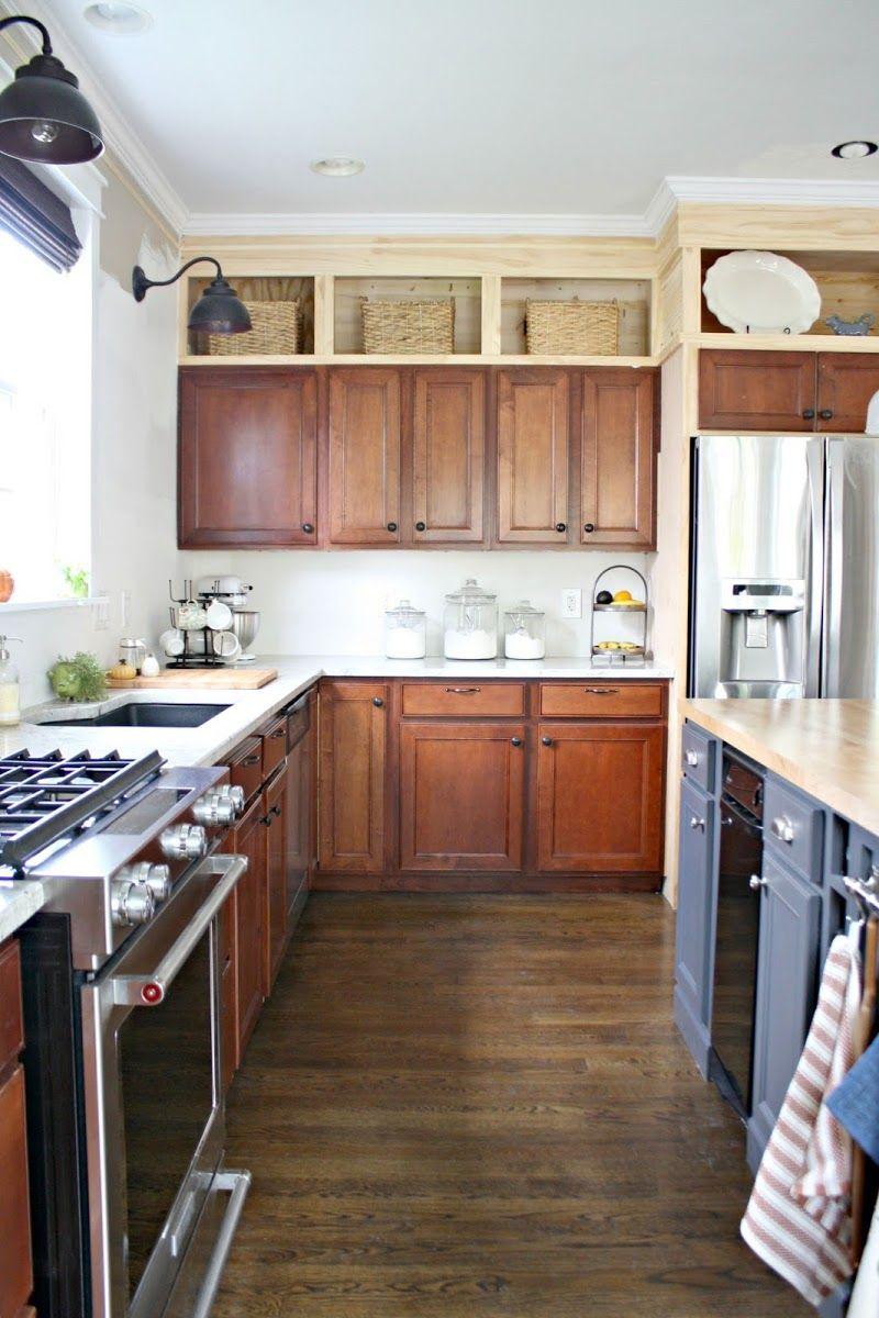 When I Feel Super Productive | Kitchen soffit, Kitchen ...