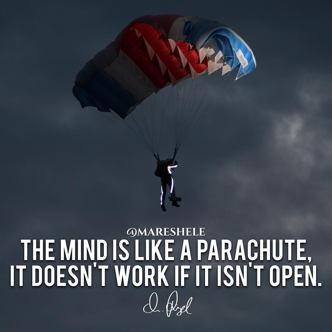 Better Open Your Parachute Read It Live It Love It Luxurylife Outdoor Livinglife Tflers Adventure Quotes Luxury Quotes The Success Club