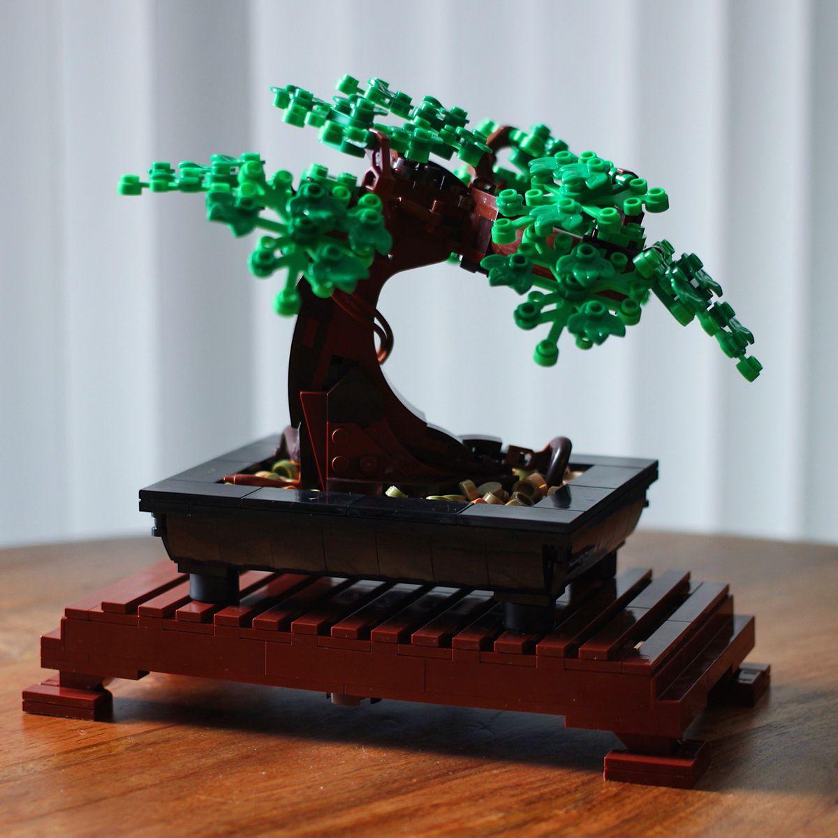 Lego Creator Expert 10281 Bonsai Tree In 2021 Bonsai Tree Lego Creator Bonsai