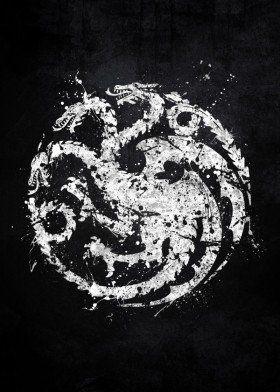 game of thrones targaryen dragon dragons house sigil ...