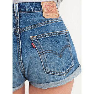 high waisted levis shorts distressed levi shorts vintage. Black Bedroom Furniture Sets. Home Design Ideas
