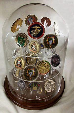 Coin Globe Shelf Display Large Hot Stuff For Him Coin