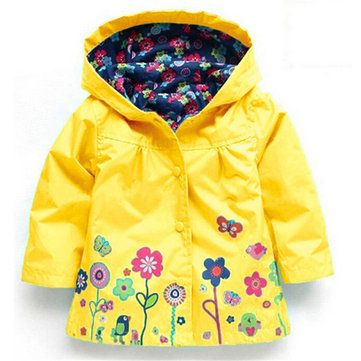 52bcc9c9a Trench Coat For Girls Jacket For Girls Boys Windbreaker Kids Raincoat Outerwear  Children Clothes On Sale - NewChic Mobile
