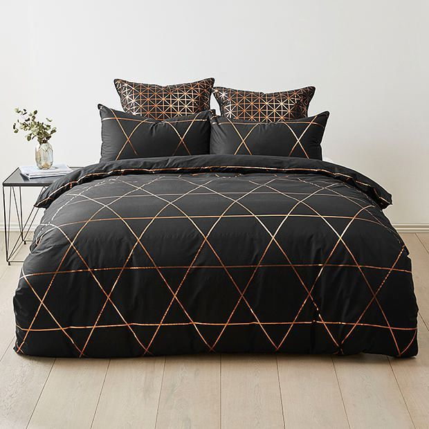 Miranda Quilt Cover Set   Quilt cover, Target and Bedrooms : black quilt covers - Adamdwight.com
