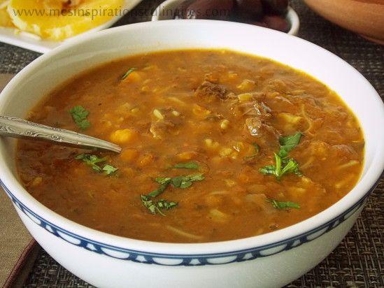 Soupe marocaine harira fassia recette articles - Facebook cuisine algerienne ...