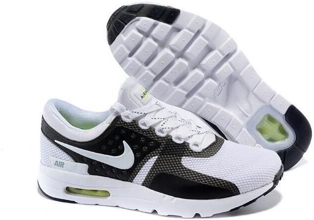 differently 55680 ad9f9 2015 Latest Nike Air Max Zero QS 87 Retro Mens Running Shoes Black White  789695-006