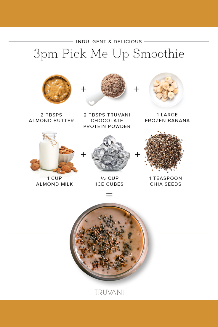 3pm Pick Me Up Smoothie
