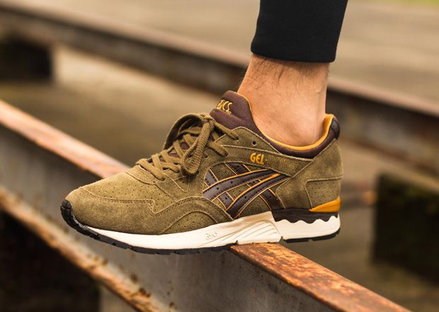 asics gel lyte 5 dark brown