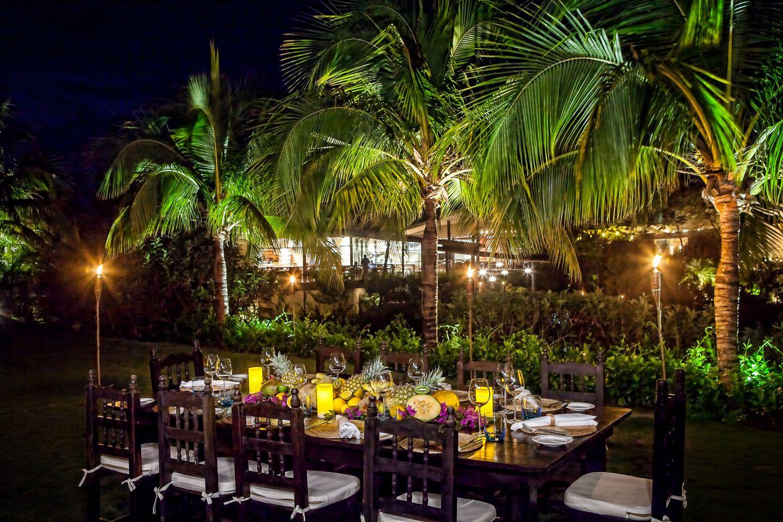 Intimate famly dinner @ Rosewood Mayakoba, Riviera Maya, Mexico