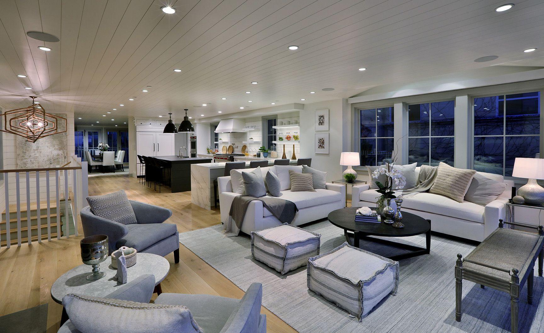 Open Concept Coastal Modern Luxury Home Open Concept Floor Plans Luxury Homes Interior Design