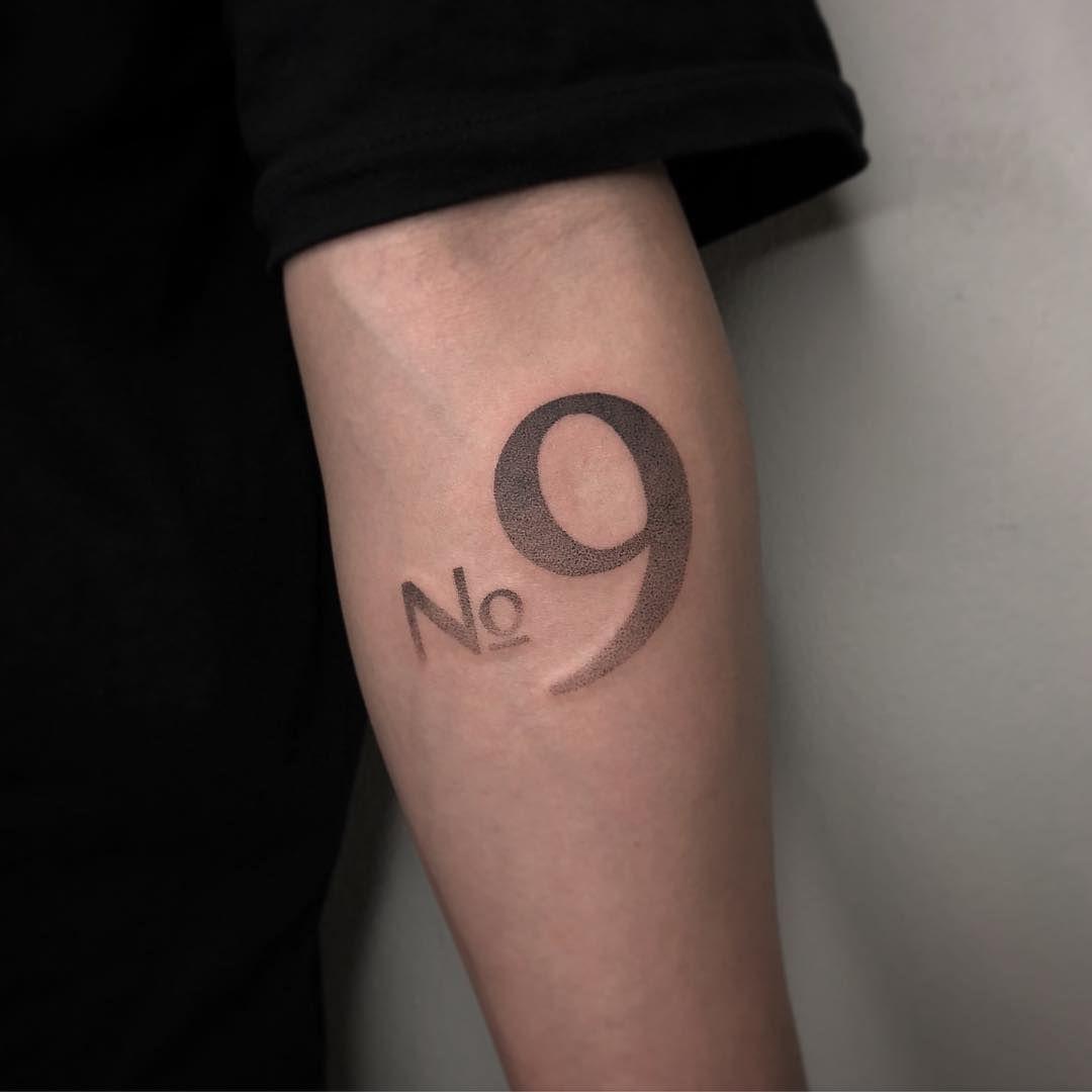 Number 9 At Callbuttontattoo Tattoos Tattoos Name