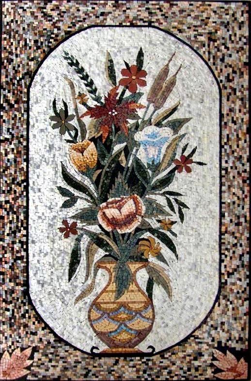 Claude Monet Sunflowers - Mosaic Reproduction   Claude