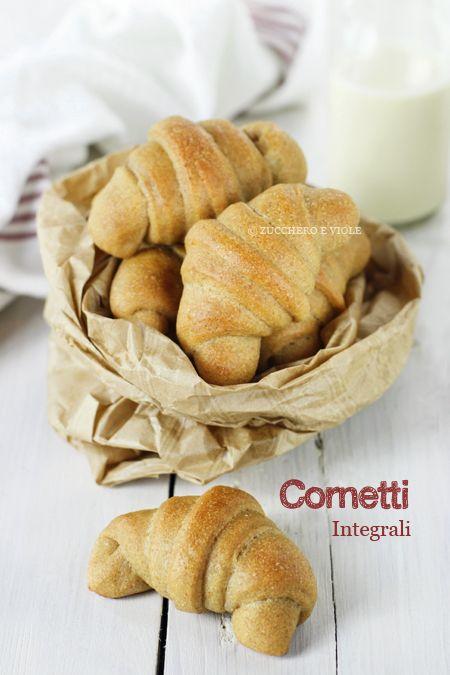 Cornetti Vegan Integrali Cucina Croissant Recipe Food E Vegan