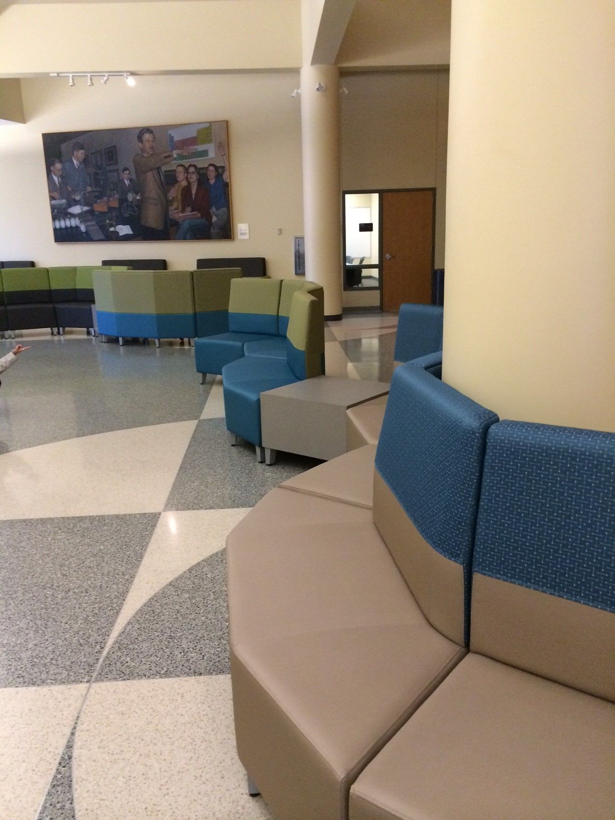 University Of Nebraska Othmer Hall Lincoln NE Fringe Lounge Furniture In Collaborative