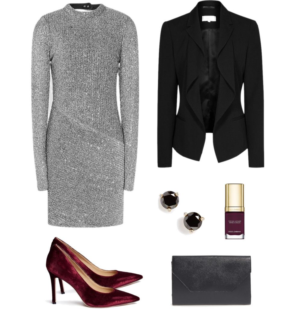 Christmas Office Party Dress Ideas Part - 15: Outfit Idea For The Holiday Office Party.