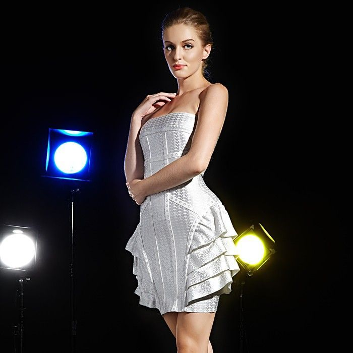 Dragon Kleid Abendkleid 2019 Kurz Silber | Abendkleid ...