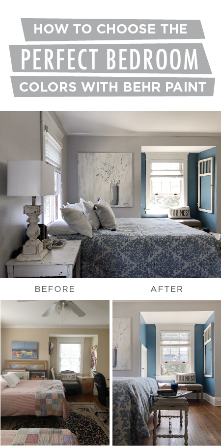Your Diy Bedroom Makeover Just Got A Lot More Beautiful Thanks To This How Guide For Picking The Perfect Paint Color Palette Leslie Of My 100 Year Old