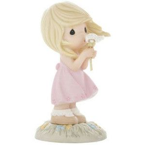 Mom always loved the Precious Moments figurines. Whenever I see them on a card, in a book, in the Hallmark store, I think of Mom.