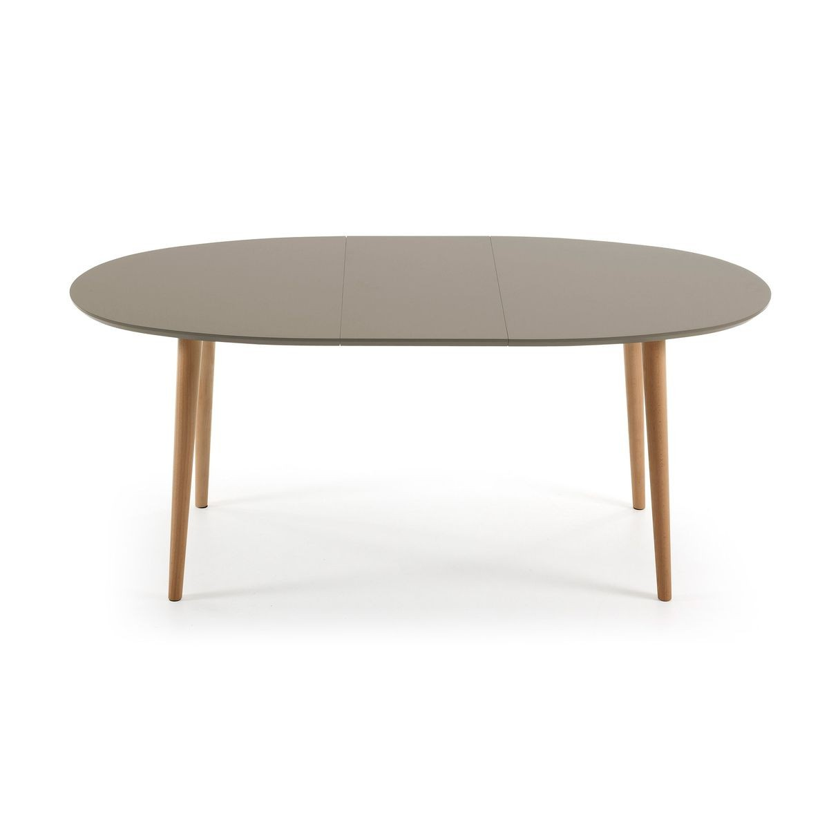 Ovale Taille Table Marron 90cm 140220X Oqui Extensible F1KuTlc3J