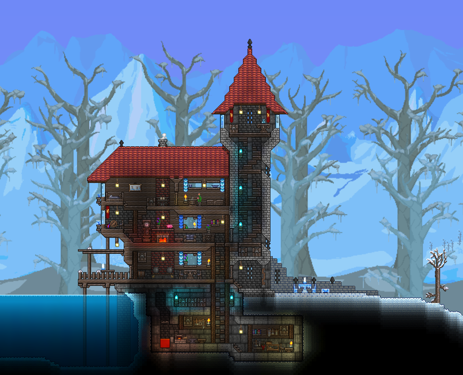 Boreal Wood Themed Starter House In My First Expert Playthrough