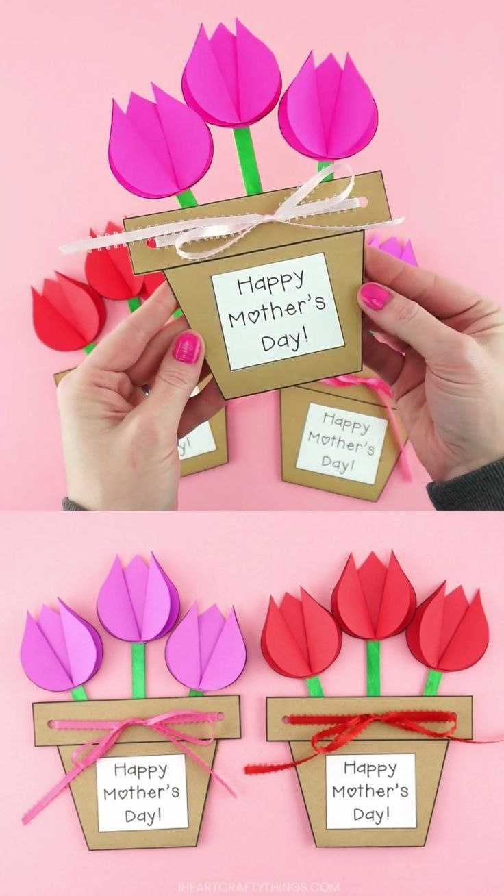 How to Make a Mother's Day Flower Pot Craft