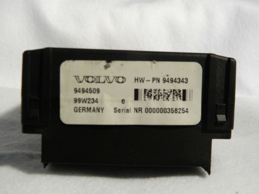 2001-04 Volvo 9494509 Relay Fuse Panel Control Module S60 S70 S80