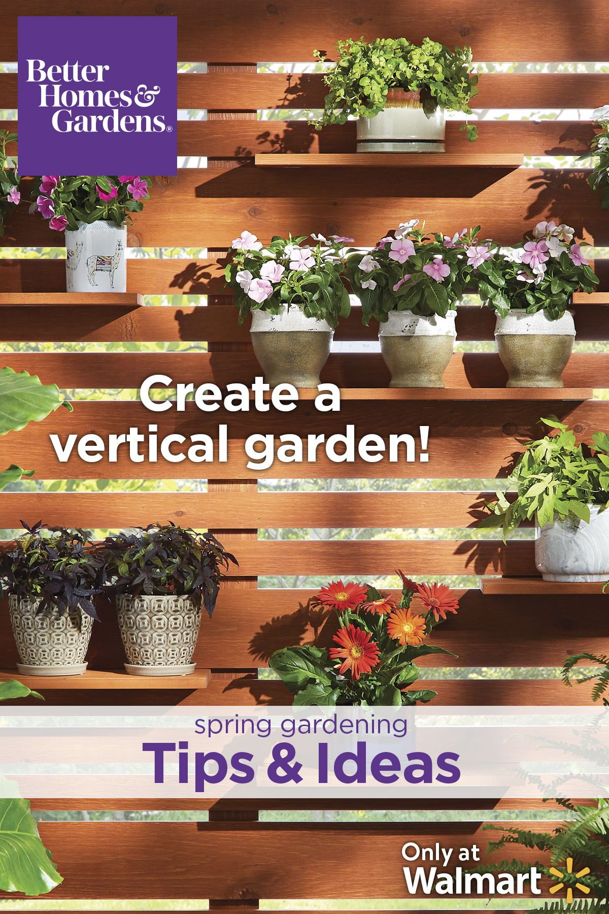 Better Homes And Gardens Diy Vertical Garden
