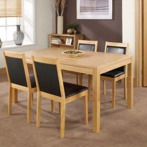 Light Oak Dining Room Table And Chairs  Httpbehoovenpress Adorable Oak Dining Room Furniture Decorating Inspiration