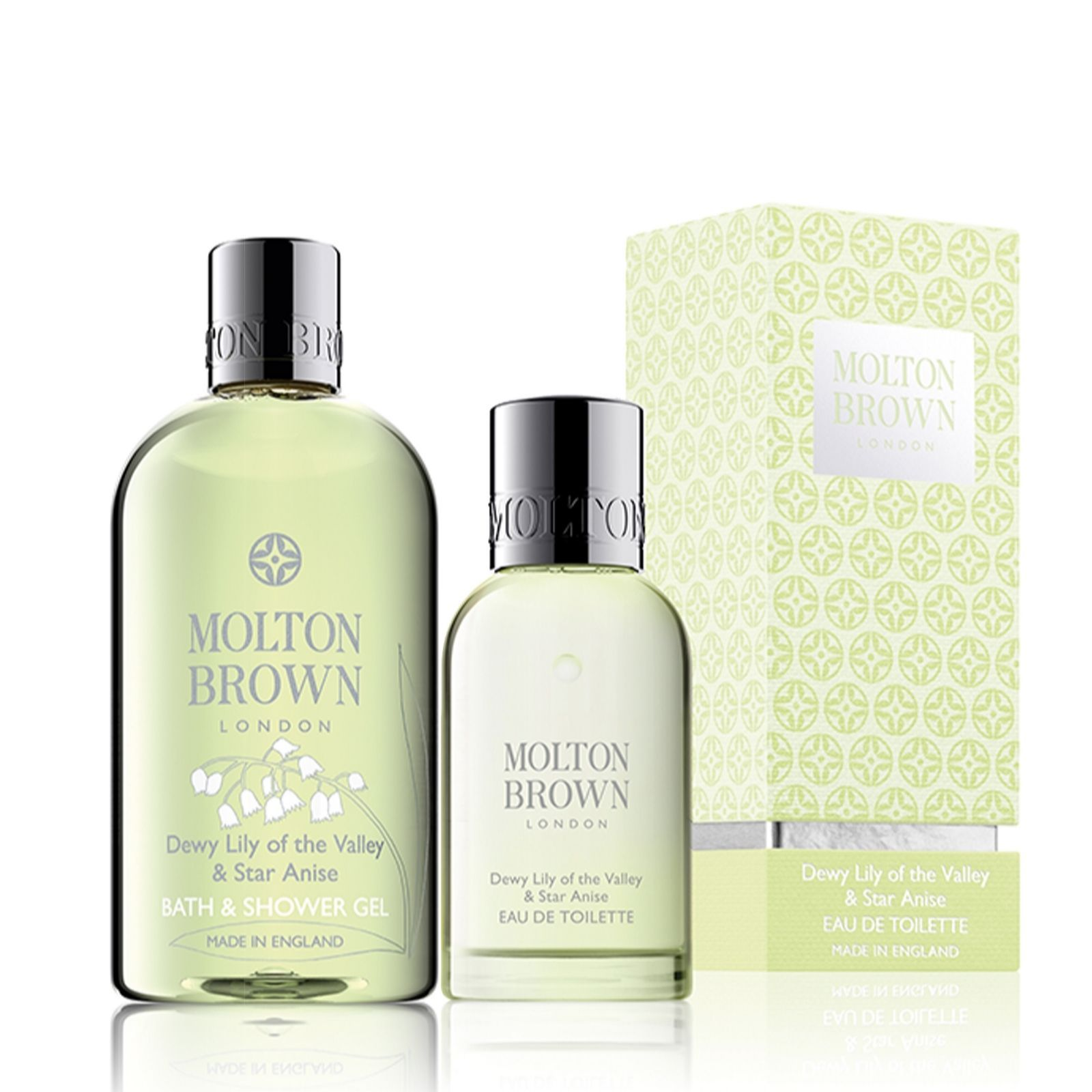 5d48f1a4409cb 228101 - Molton Brown Lily of the Valley Body Wash   Eau de Toilette QVC  Price  £41.50 + P P  £4.95 A beautiful Molton Brown duo including their Dewy  Lily ...