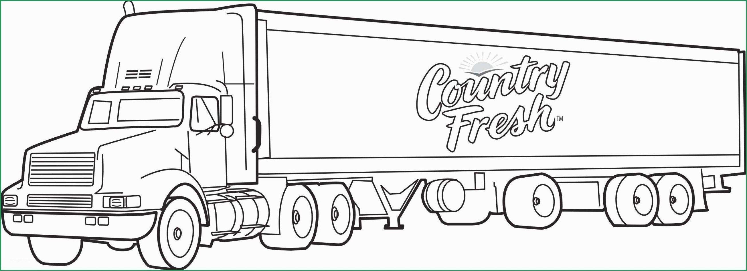 Semi Truck Coloring Pages Truck Coloring Pages New Semi Truck