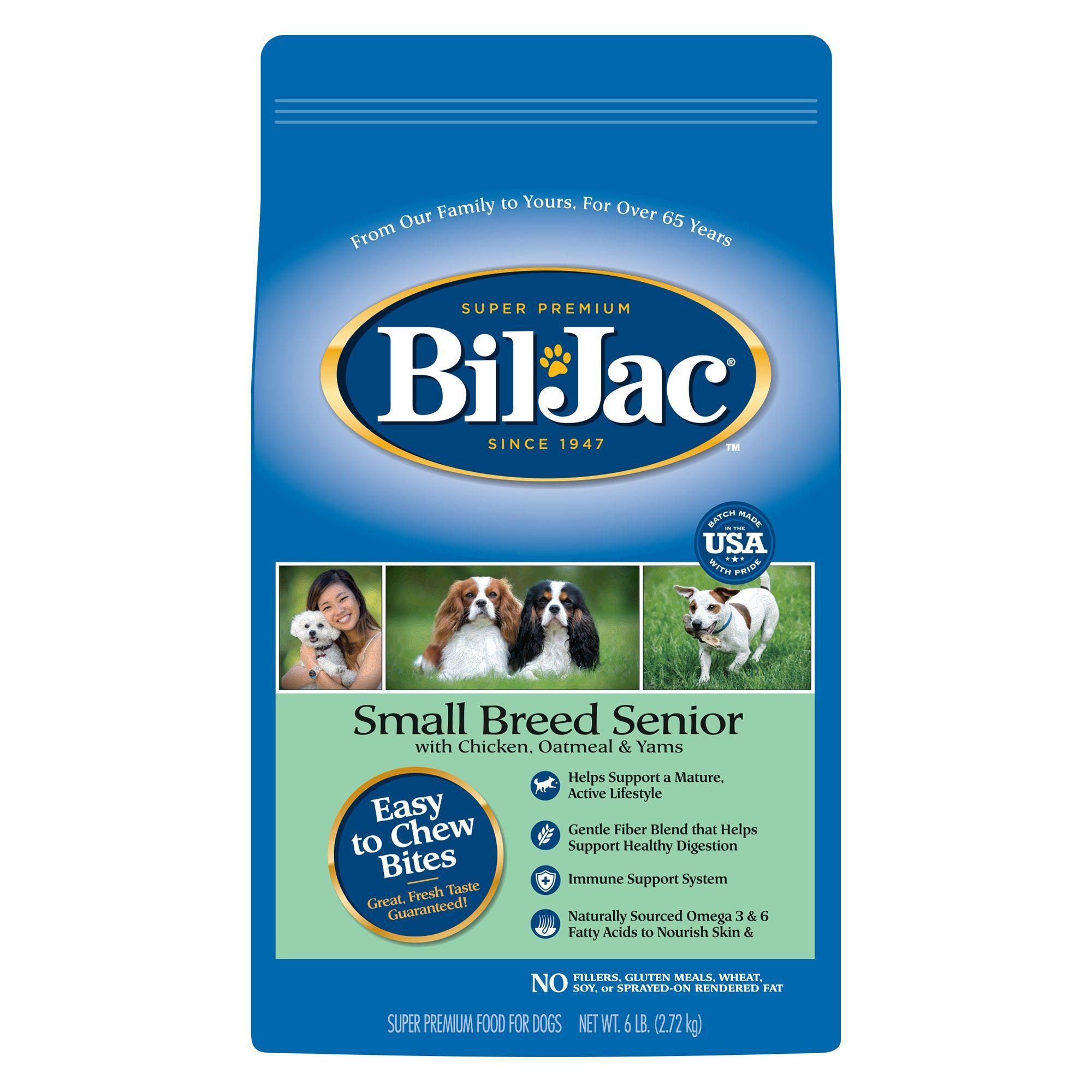 Bil Jac Small Breed Senior Dog Food Chicken Dog Food Recipes