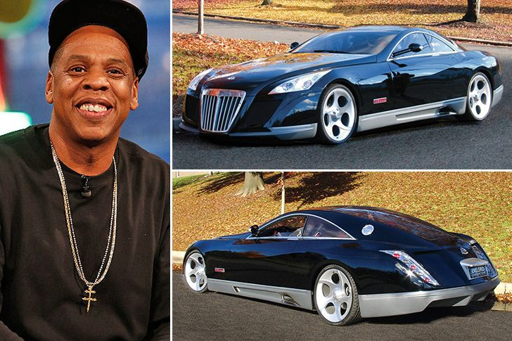 jaw dropping celebrity cars – - jay z – maybach exelero, estimated