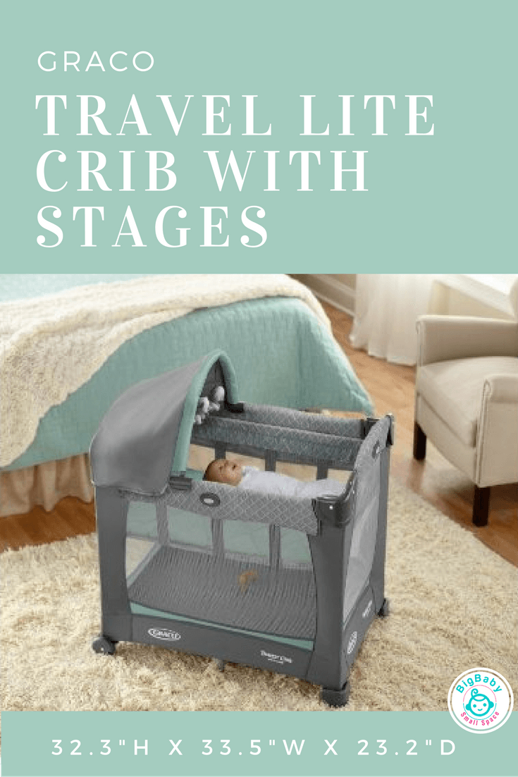 Graco Travel Lite Crib with Stages | Big Baby Small Space | Colin ...