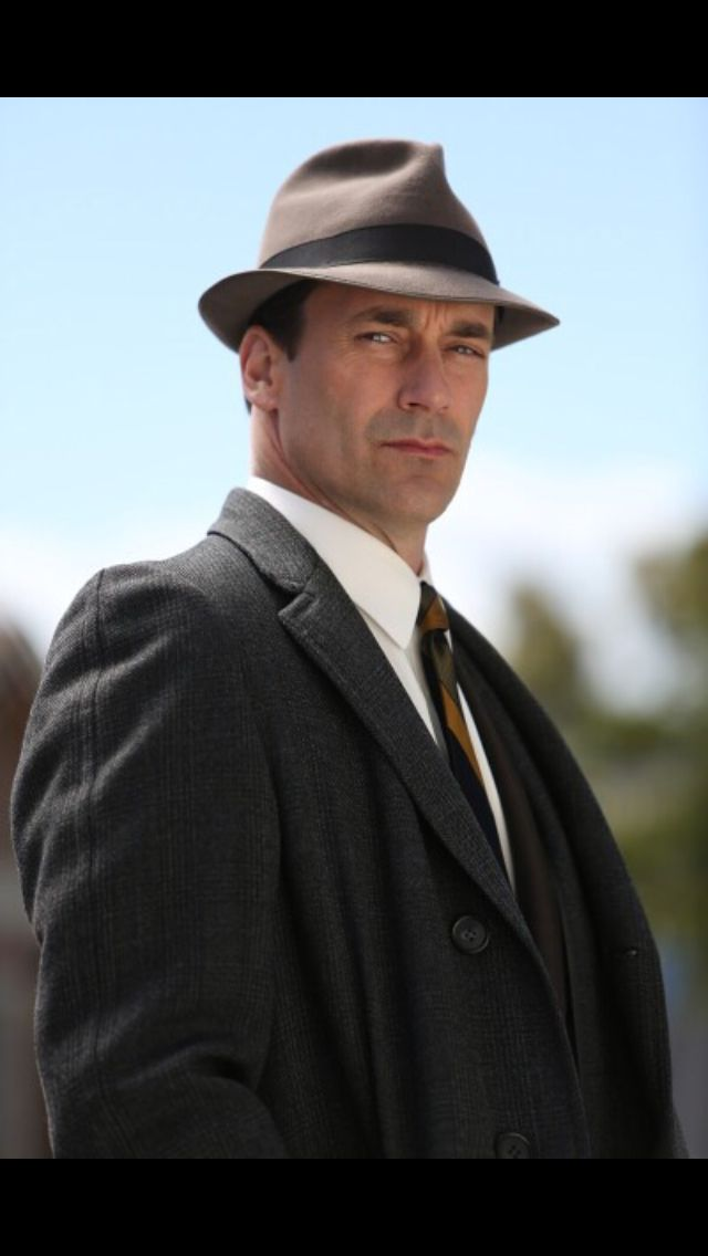We heart Don Draper...he's completely damaged and dysfunctional yet totally charming and of course handsome!