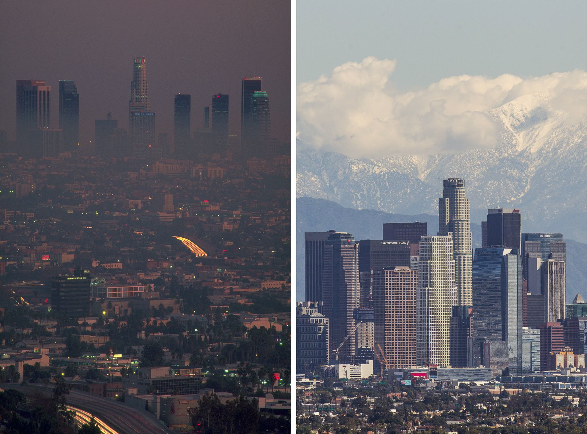 As Smog Thins In L A Dramatic Evidence Of Kids Healthier Lungs