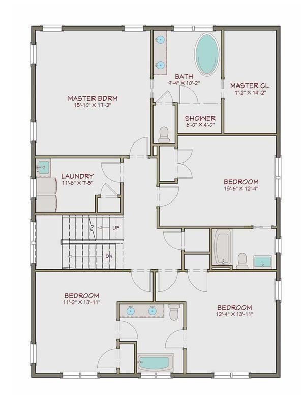 Genial Casa De Tres Pisos 5 Dormitorios Y 300 Metros Cuadrados Planos De Casas Gratis Deplanos Co Craftsman Style House Plans Square House Plans House Plans