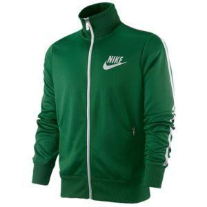 a463da26095f Nike Track Jacket - Men s - Sport Inspired - Clothing - Pine Green White