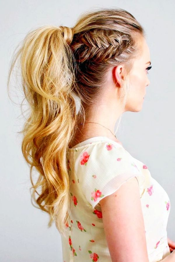 20 Fancy Ponytail Hairstyles For Your Next Selfie | Fancy ponytail ...