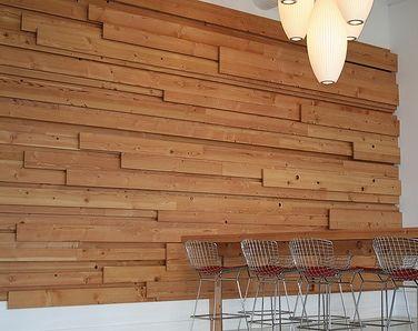 Paredes forradas con listones salvaged wood walls - Ideas para decorar una casa pequena ...
