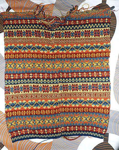 mod le tricot jacquard norvegien tricot et laine. Black Bedroom Furniture Sets. Home Design Ideas