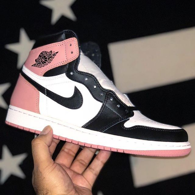 "0767c46fc6b Is the Air Jordan 1 ""Rust Pink"" releasing at Art Basel? These and ..."