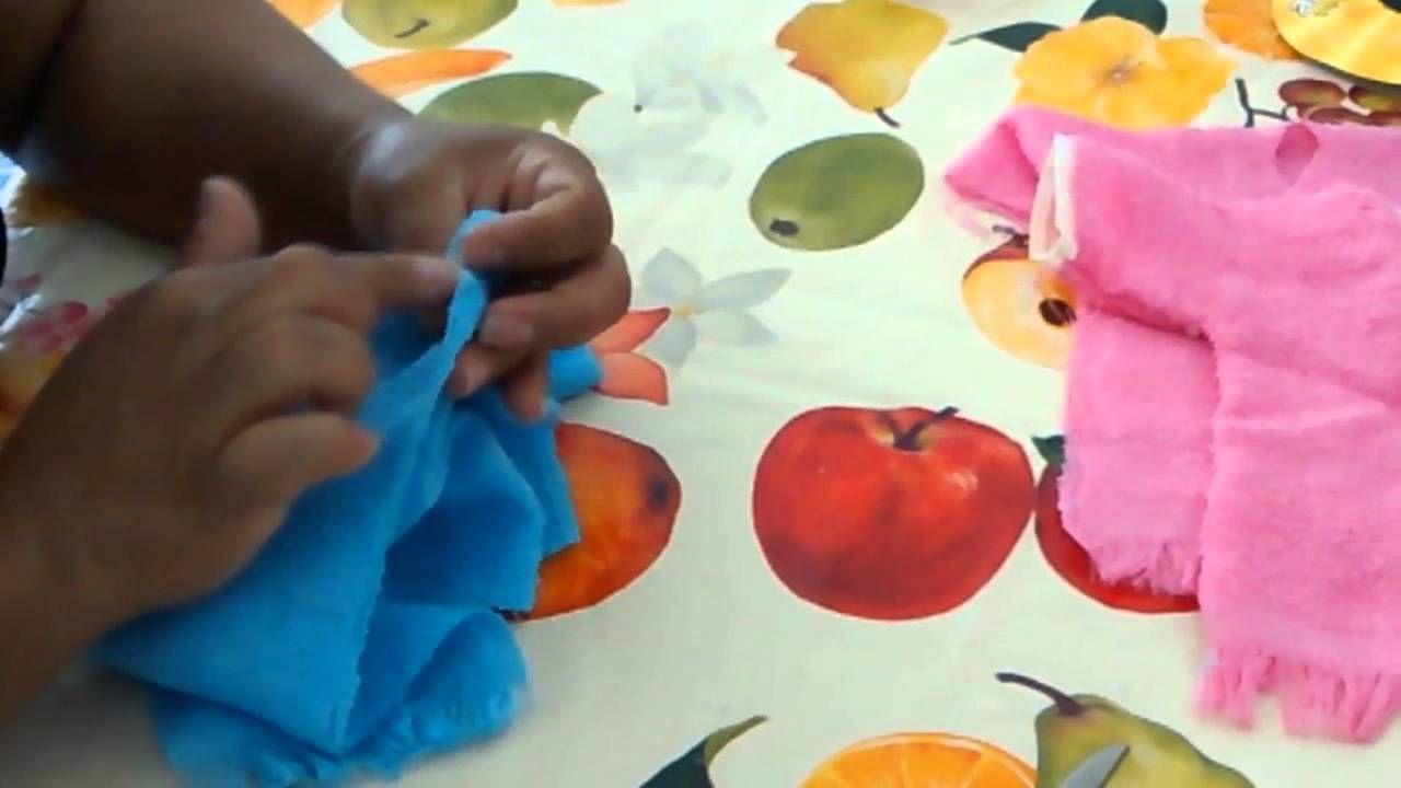 Well-known Como fazer roupão da boneca porta papel higiênico | boneca de  UB17