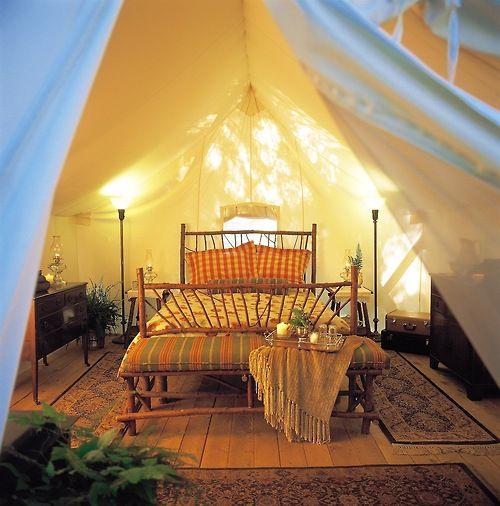 Romantic | Tent glamping, Luxury tents
