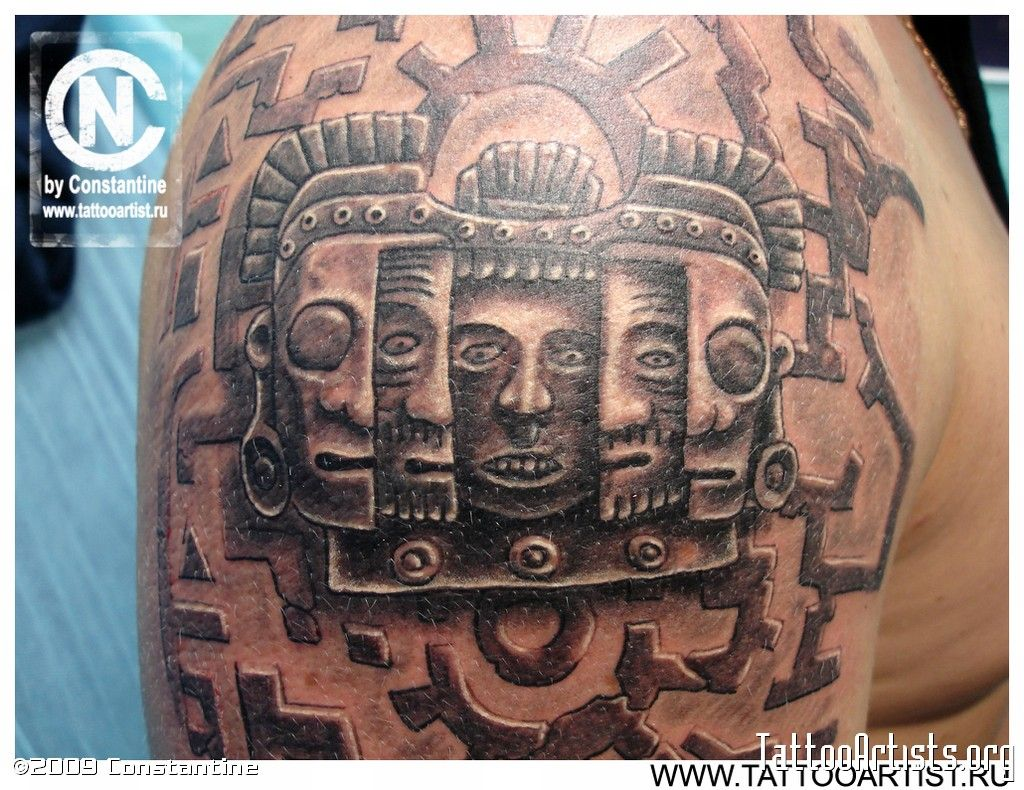 3d aztec tattoos google search tats pinterest tatting and tattoo 3d aztec tattoos google search buycottarizona Images