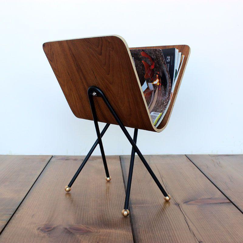 Plywood Magazine Rack Handmade Furniture Modern Magazine Racks Magazine Rack