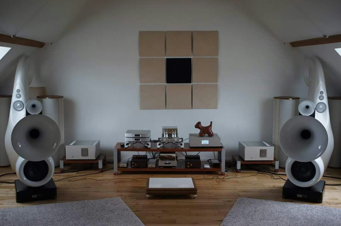 High end audio audiophile Vienna Physix Diva Grandezza horn