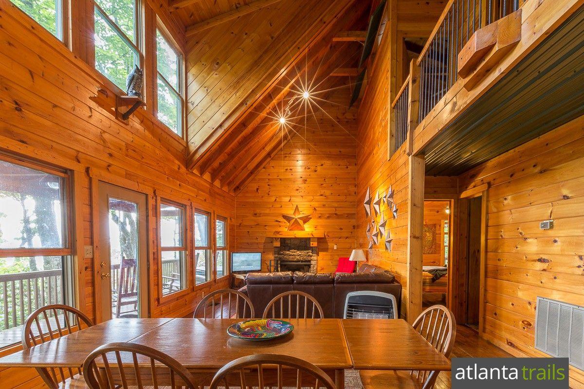 Merveilleux Ellijay Cabin Review: Cliffhanger Cabin On Fort Mountain, Wilderness View  Cabins